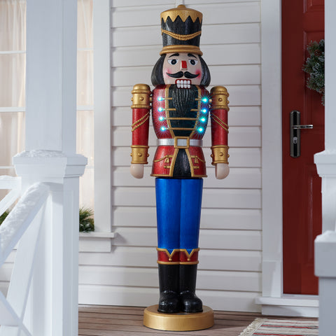 "68"" Nutcracker - Musical & Lighted - Willow Manor Shop"