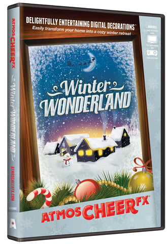 ATMOSCHEER WINTER WONDERLAND PROJECTOR DVD - Willow Manor Shop