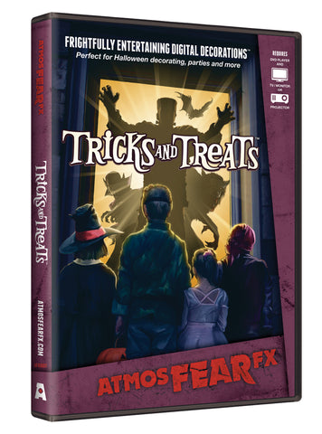 ATMOSFEAR FX - Tricks & Treats Projection DVD - Willow Manor Shop