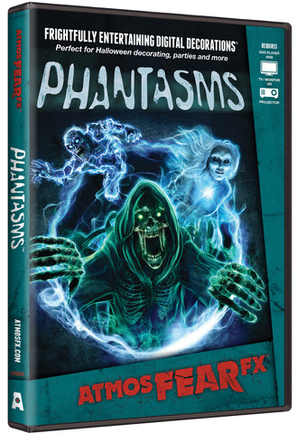 ATMOSFEAR FX - Phantasms Projection DVD - Willow Manor Shop