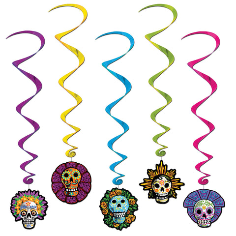 Day of the Dead - Ceiling Whirls - Willow Manor Shop