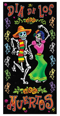 Day of the Dead - Door Cover - Willow Manor Shop