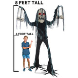 PRE-ORDER! 7 Ft Catacomb Creature - Animated - Willow Manor Shop