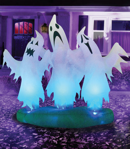 3 Floating Ghosts Inflatable