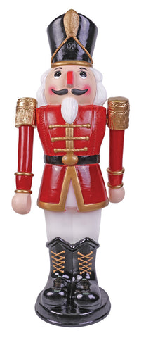 3 Ft Marching Nutcracker - Animated - Willow Manor Shop