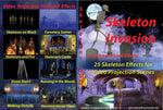 Skeleton Invasions - Projection DVD
