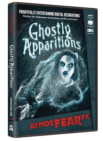 ATMOSFEAR FX - Ghostly Apparitions Projection DVD - Willow Manor Shop