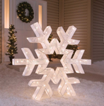 "48"" Twinkling Snowflake - Lighted"