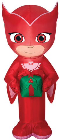 "42"" PJ Masks Owlette Inflatable - Lighted - Willow Manor Shop"