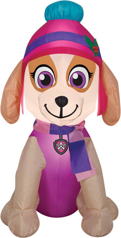 "42"" Paw Patrol Skye Inflatable - Lighted - Willow Manor Shop"
