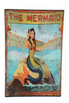 THE MERMAID Carnival Sign - Metal