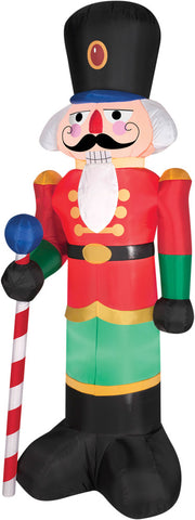6.5 Ft Nutcracker Inflatable - Lighted - Willow Manor Shop