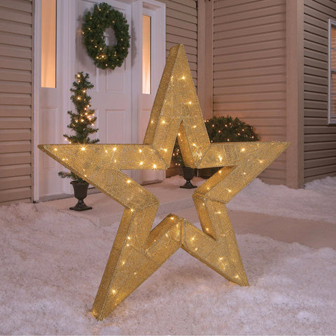 "48"" Twinkling Star - Lighted - Willow Manor Shop"