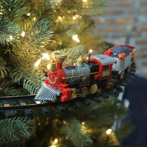 IN THE TREE OR UNDER THE TREE! CHRISTMAS TRAIN SET