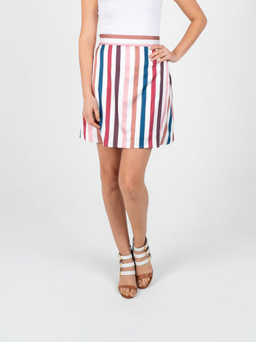 Short Skirt - Stripes