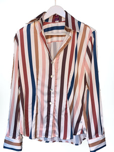 Classic Blouse - Stripes