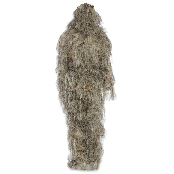 3D Camo Hair Camouflage Ghillie Suit Set - TLSE Gear