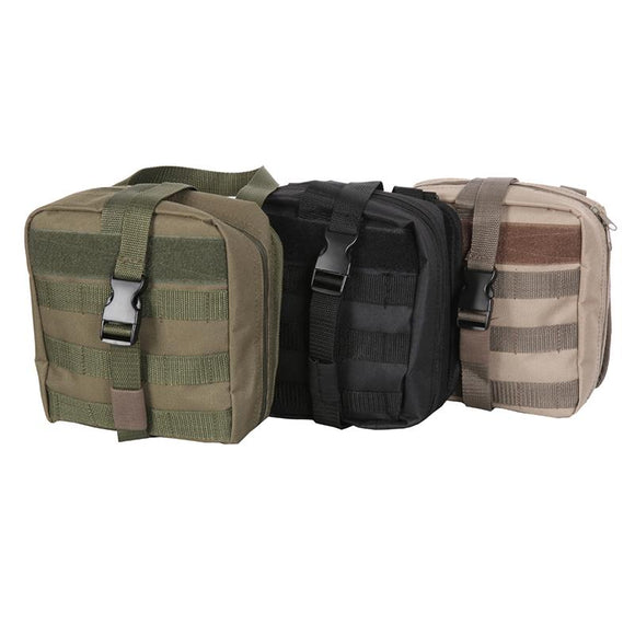 Tactical MOLLE Rip Away Medical Pouch - TLSE Gear
