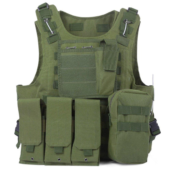 Camouflage Hunting Tactical Vest - TLSE Gear