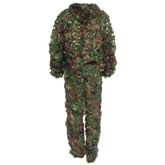 3D Camo Leaf Camouflage Ghillie Suit Set - TLSE Gear