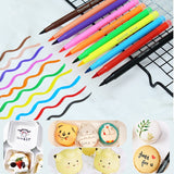 10 Colors Edible Pigment Pen 5ml DIY Food Coloring Cake Decorating Tool