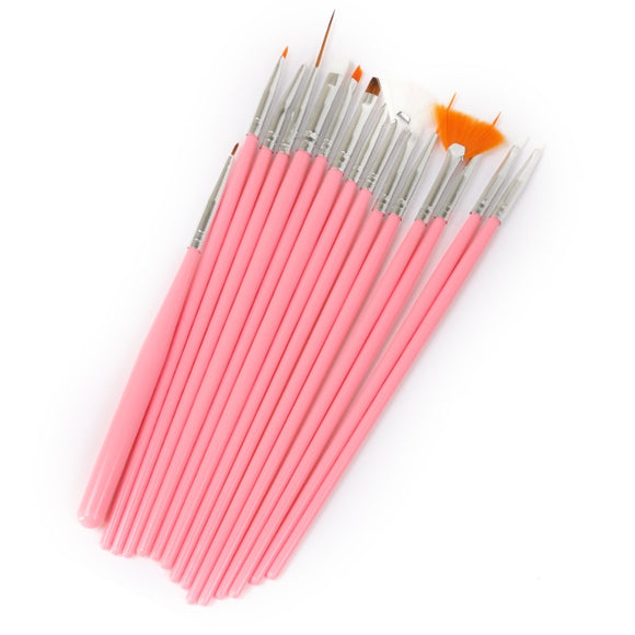 15PCS Fondant Brush Cake Decorating Tools