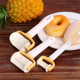 3Pcs/Set Rolling Angel Biscuit Cookies Cutter