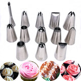 1pcs Big Size Cake Tip DIY Cream Icing Piping