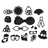 22 Designs Plastic Silhouette Cookie Cutter