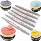 6Pcs/set Fondant Cake Sugar Soft Tip Shapers Modelling tool Cakes