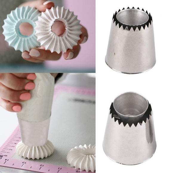 Extra Large Flower Piping Nozzles