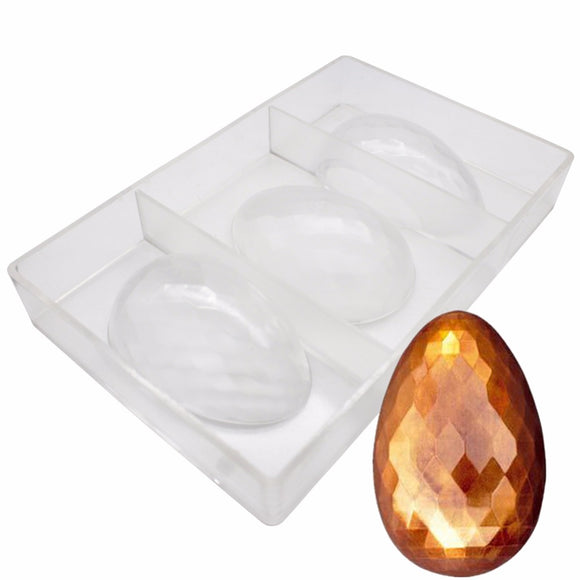 Gold baking Fancy Eggs Easter Chocolate Mold