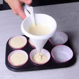 Funnel Chocolate Cupcake Pancake Muffin Funnel Baking Tools