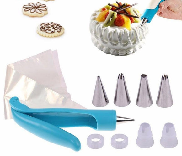 11pcs/Set Tool Cake Decorating Icing Piping