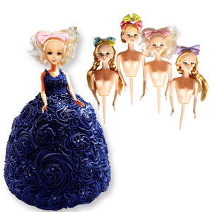 Lovely  Food Grade Plastic  Doll Model wedding decoration Cake