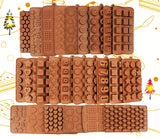 New Silicone Chocolate Mold 3d Shapes Chocolate baking