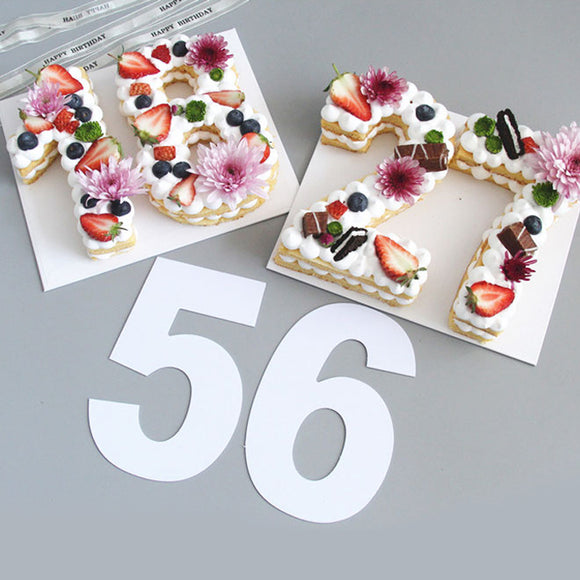 0-8 Numbers Cake Mold Cake Decorating