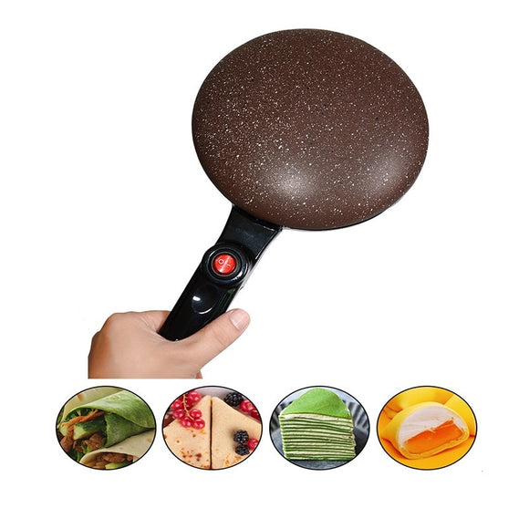 Portable Electric Crepe Maker Machine Pizza Pancake Machine