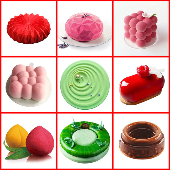 3D Cake Mold for Baking Tools