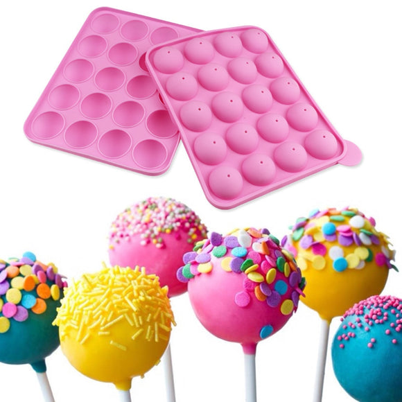 Silicone Form 1PC Silicone Cake Pop Mold Cupcake Lollipop