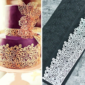 Silicone Mold Fondant Cake Lace Embossed Decorating Tool