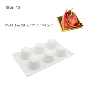 3D Cake Mold Baking Silicone