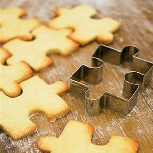 Stainless Steel puzzle Shape Cookie Cutter -  cake lover
