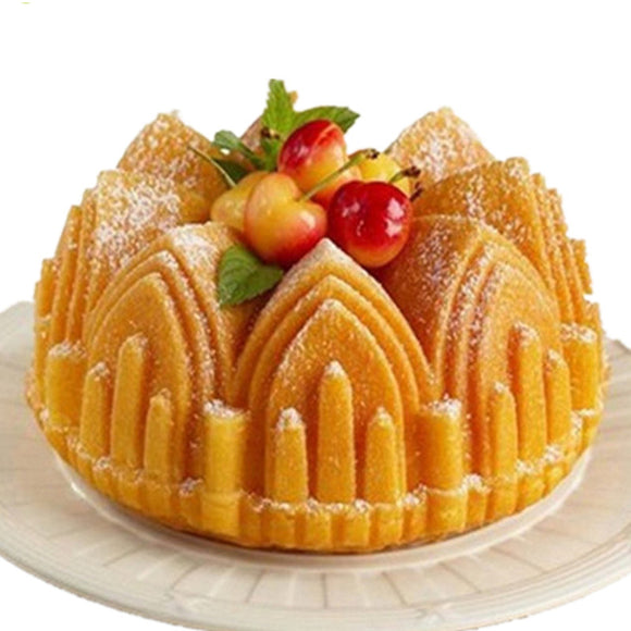 Big Crown castle Silicone Cake Mold -  cake lover