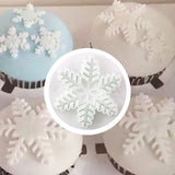Lovely 3Pcs/Set Snowflake Fondant Cake Decorating Plunger Tools -  cake lover