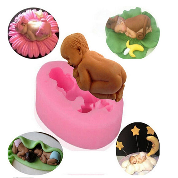 Baby Infant Silicone Cake Molds -  cake lover