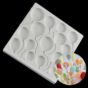 3D Balloon Pattern Mold -  cake lover