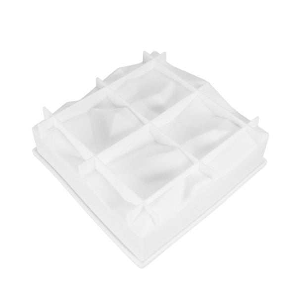 Square Rock Shape Silicone Cake Mold -  cake lover