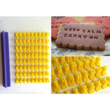 Alphabet Letter Number Cookie Press Stamp Embosser Cutter -  cake lover