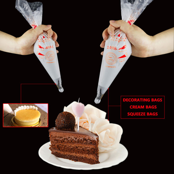100Pcs/Set  Bag Piping Cake Pastry -  cake lover